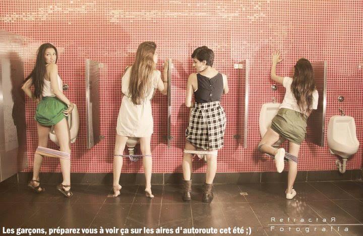 Ivre adolescent filles culotte