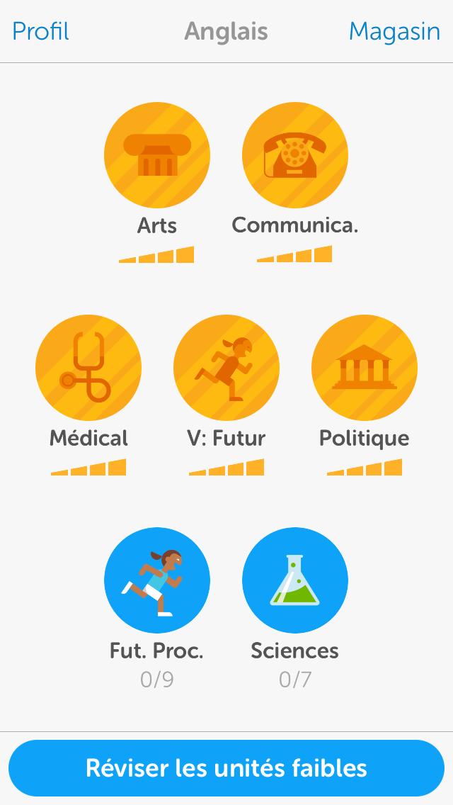 duolingo espagnol